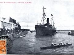 Porto Alegre O caes de desembarque