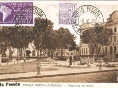 Praca Pedro Americo Parahyba do Norte