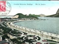 Rio de Janeiro Avenida Beira mar Botafogo