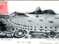 Rio de Janeiro Avenida Beira mar
