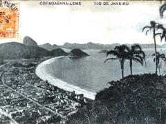 Rio de Janeiro Copacabana Leme