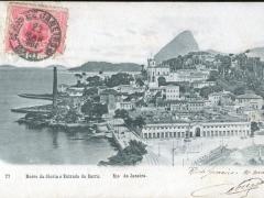 Rio de Janeiro Morro da Gloria e Entrada da Barra