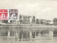 Bornholm Sandvig Hotel Strandslot