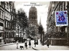 Jopengasse mit Marienkirche