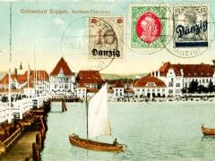 Danzig Ostseebad Zoppot Kurhaus Panorama