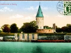 Danzig Brösen Strand und Kurhaus