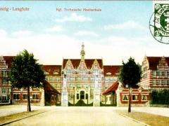 Danzig Langfuhr Kgl technische Hochschule