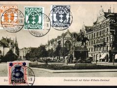 Dominikswall mit Kaiser-Wilhelm-Denkmal