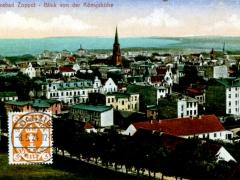 Ostseebad Zoppot Blick von der Königshöhe