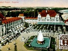 Ostseebad Zoppot  Kurgarten