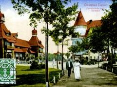 Ostseebad Zoppot Promenade und Südbad