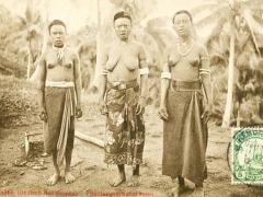 Herbertshöhe Pflanzungsarbeiterinnen
