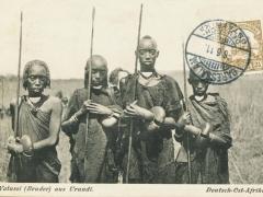 Watussi (Bruder) aus Urundi
