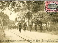 belgischer Einmarsch in Tabora