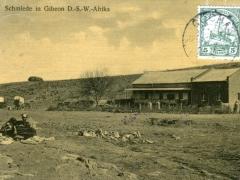Schmiede in Gibeon D S W Afrika