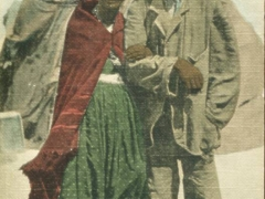 altes Hottentotten Ehepaar