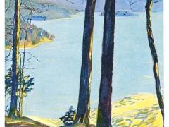 Künstlerkarte Bergsee
