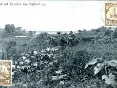 Bonaberi Blick von Balidorf aus Stempel Nyanga