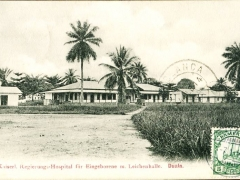 Kaiserl. Regierungshospital für Eingeborene mit Leichenhalle