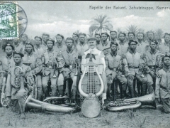 Kapelle der Kaiserl Schutztruppe Kamerun