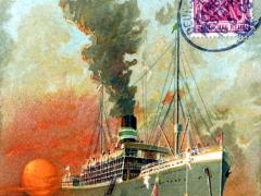 Seepost Hamburg Westafrika Eleonore Woerman Linie XLV
