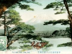 Fuji from Shoji Lake
