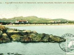 Tsingtau Augusta Viktoria Bucht mit Badestrand