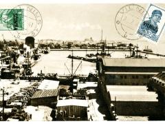 Litauen Vilnius der Hafen von Klaipeda