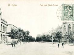 Marienwerder Dt. Eylau Post und Stadtschule