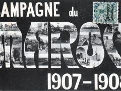 Campagne-du-Maroc-Mehrbildkarte