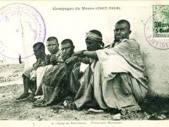 Camp du Boucheron Prisonniers Marocains