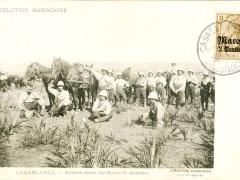 Casablanca Artillerie devant Sidi-Brahim