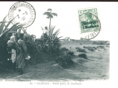 Casablanca Avant poste de tirailleurs