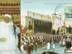 Casablanca Debarquement des chasseurs d'Afrique