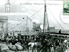 Casablanca Debarquement des troupes Espagnoles