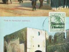 Casablanca Des troupes argeriennes