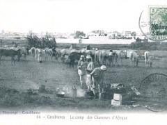 Casablanca Le camp des Chasseurs d'Afrique