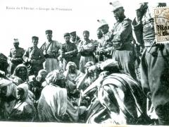 Razzia du 8 Fevrier Groupe de Prisonniers