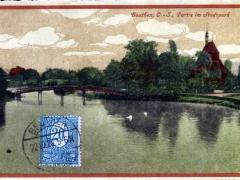 Beuthen Partie im Stadtpark