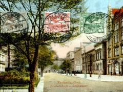 Kattowitz Friedrichstrasse u Landratsamt