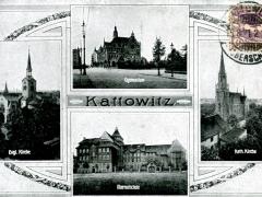 Kattowitz Mehrbildkarte 2