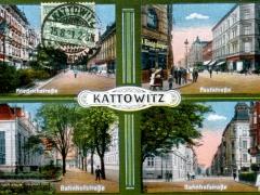 Kattowitz Mehrbildkarte