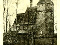 Knurow altertümliche Kath Kirche