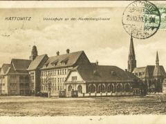 Kattowitz Volksschule an der Hardenbergstrasse