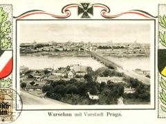 Warschau mit Vorstadt Praga