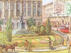 Varsovie le monument de Kopernik
