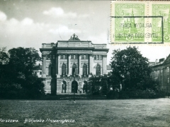 Warszawa Bibljoteka Uniwersytecka