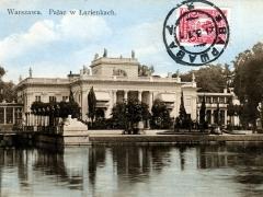Warszawa Palac w Lazienkach