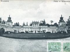 Warszawa Patac w Wilanowie