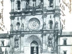 Alcobaca Fachada do Mosteiro le Monastere